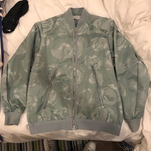 Stella McCartney/Adidas blue camo wind breaker